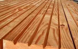 Половая доска из дерева лиственницы