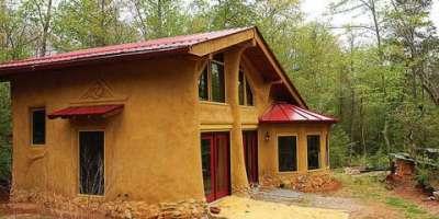 Саманный дом