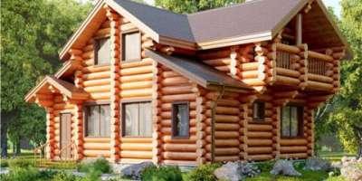дом из стенового комплекта