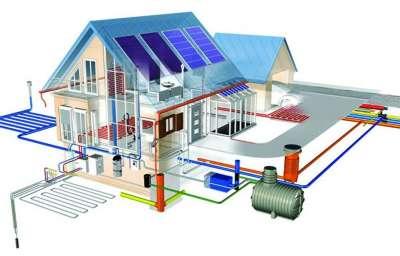 Канализация и отопление в загородном доме