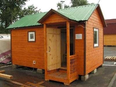 Строим баню на даче