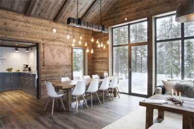 Уютное деревянное здание