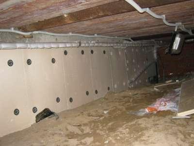 Как утеплить фундамент дома изнутри, чтобы экономить газ или дрова