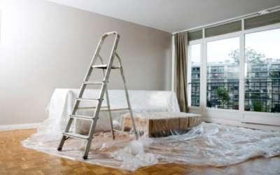 На время ремонта мебель можно накрыть