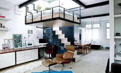 Решения для квартир с очень высокими потолками