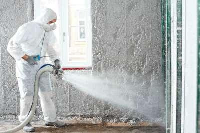 Оштукатуривание стен машинным способом